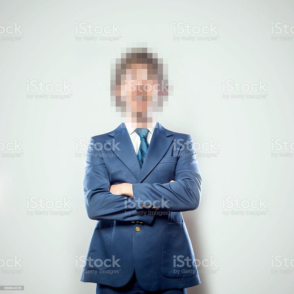 Pixel People Series stock photo