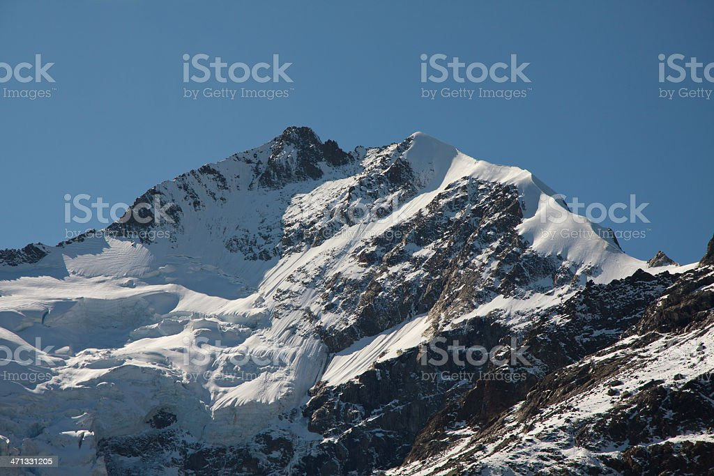 Piz Bernina royalty-free stock photo
