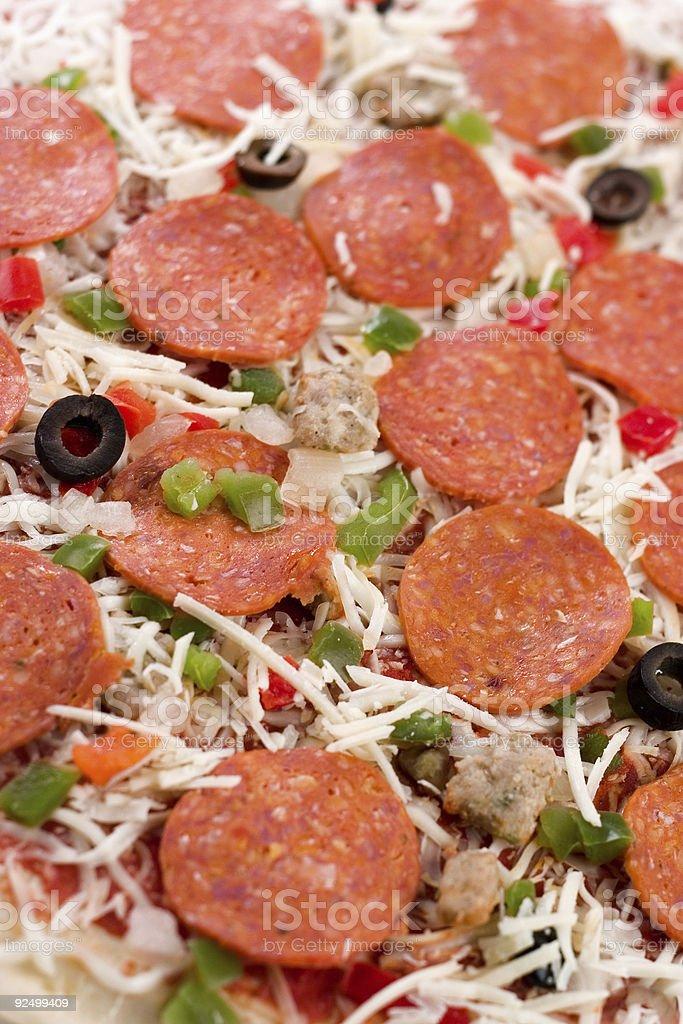 Pizza Background royalty-free stock photo
