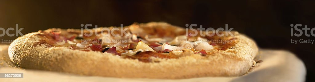 Pizza Baking royalty-free stock photo