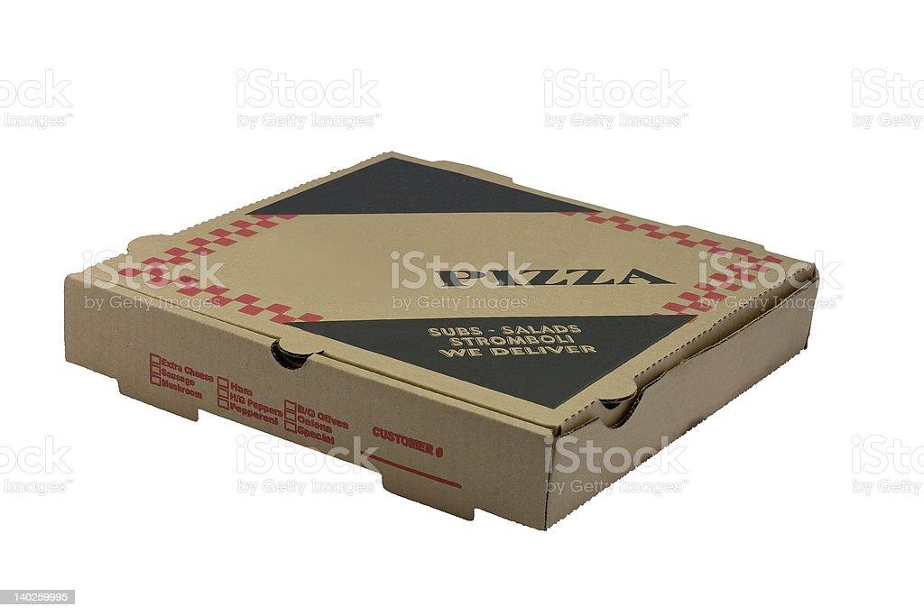 Pizza Box royalty-free stock photo