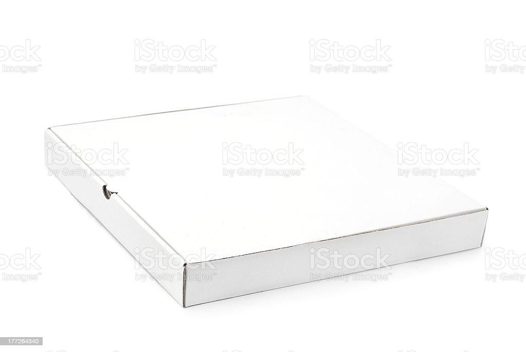 pizza box stock photo