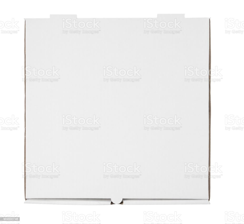 Pizza Box Template Stock Photo More Pictures Of Blank Istock