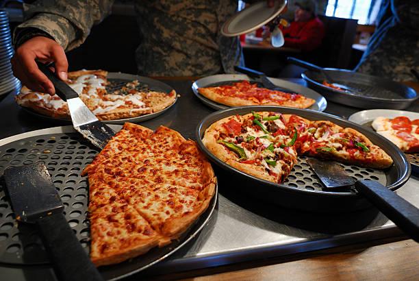 Pizza-Büfett – Foto