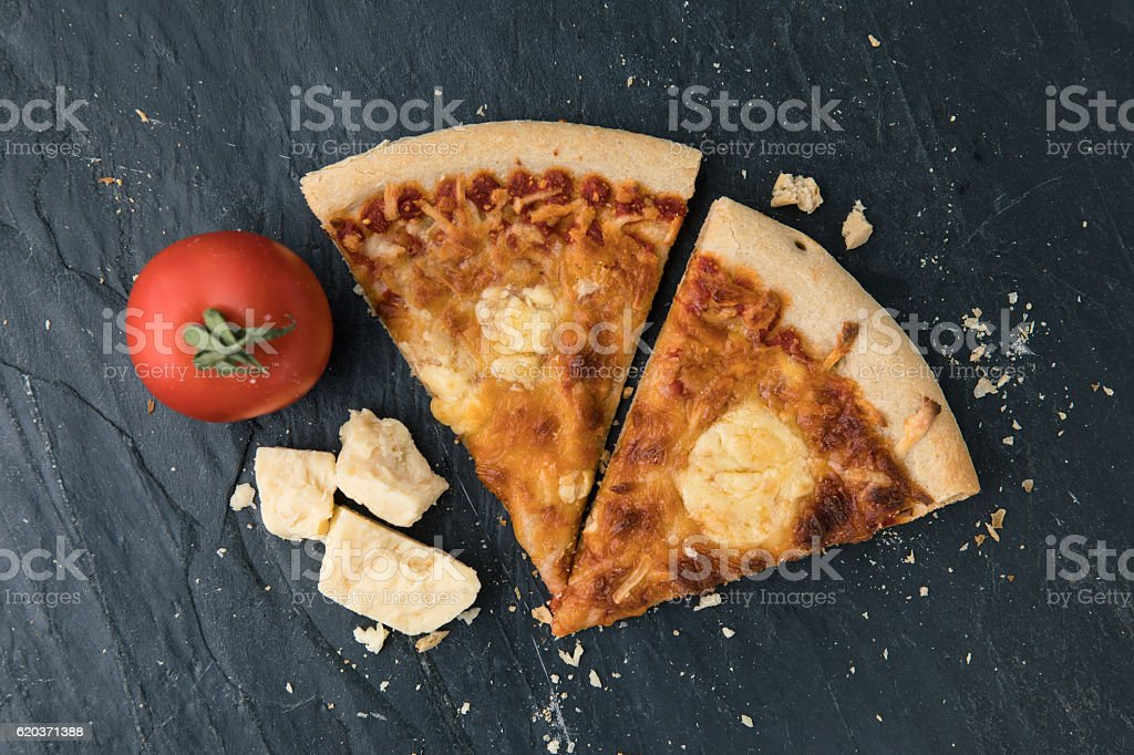 Pizza Cheese foto de stock royalty-free