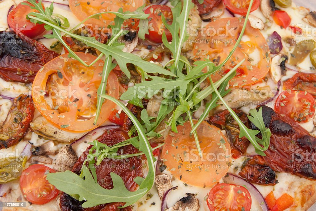 Pizza Closeup stock photo