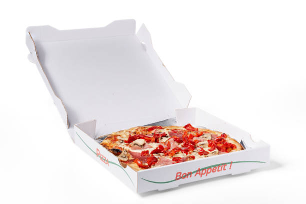 Best Pizza Box Menu Stock Photos Pictures Royalty Free