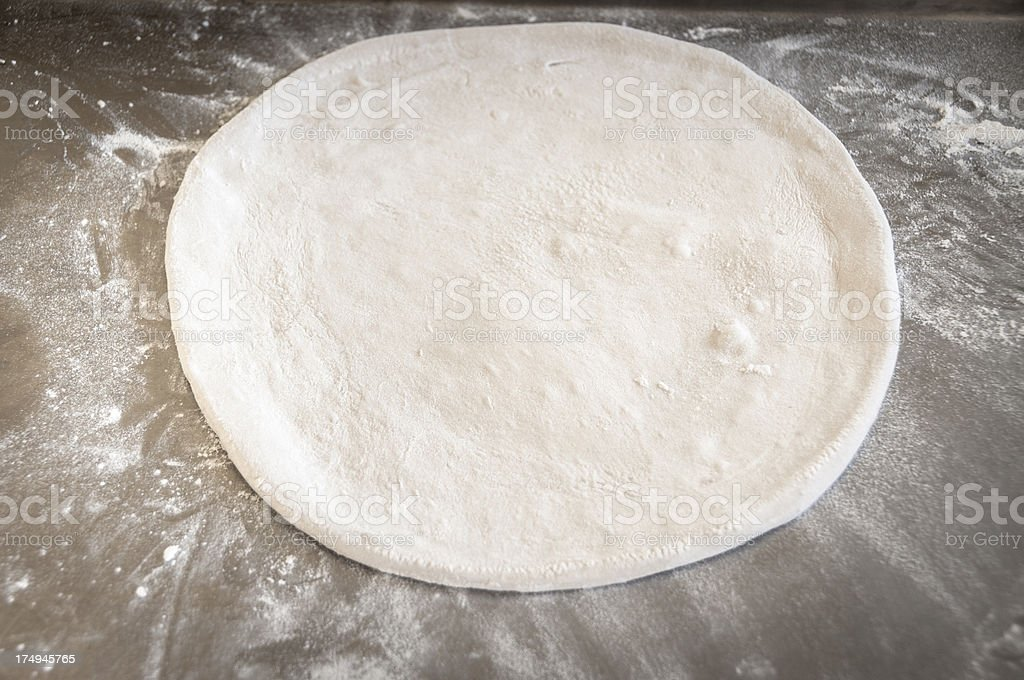 Pizza Dough royalty-free stock photo