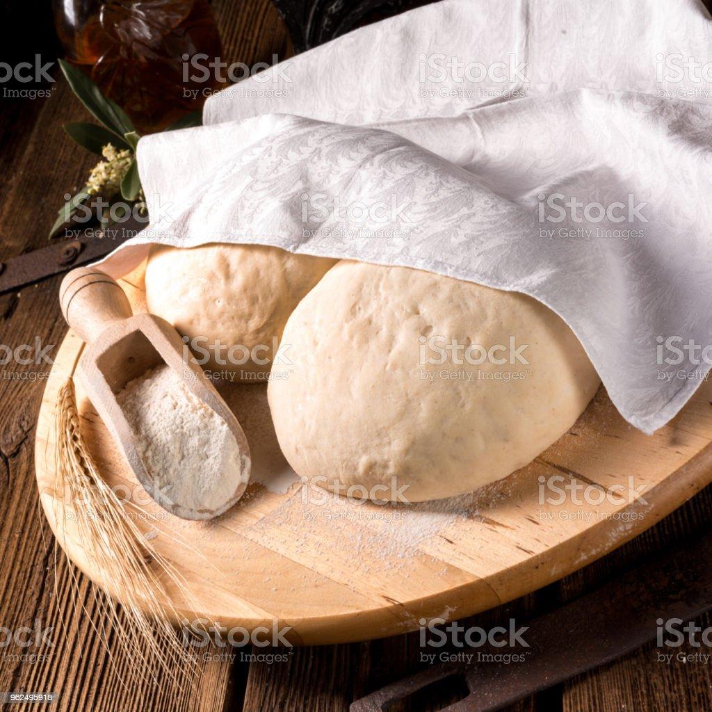 Pizza dough - Royalty-free Bakery Stock Photo