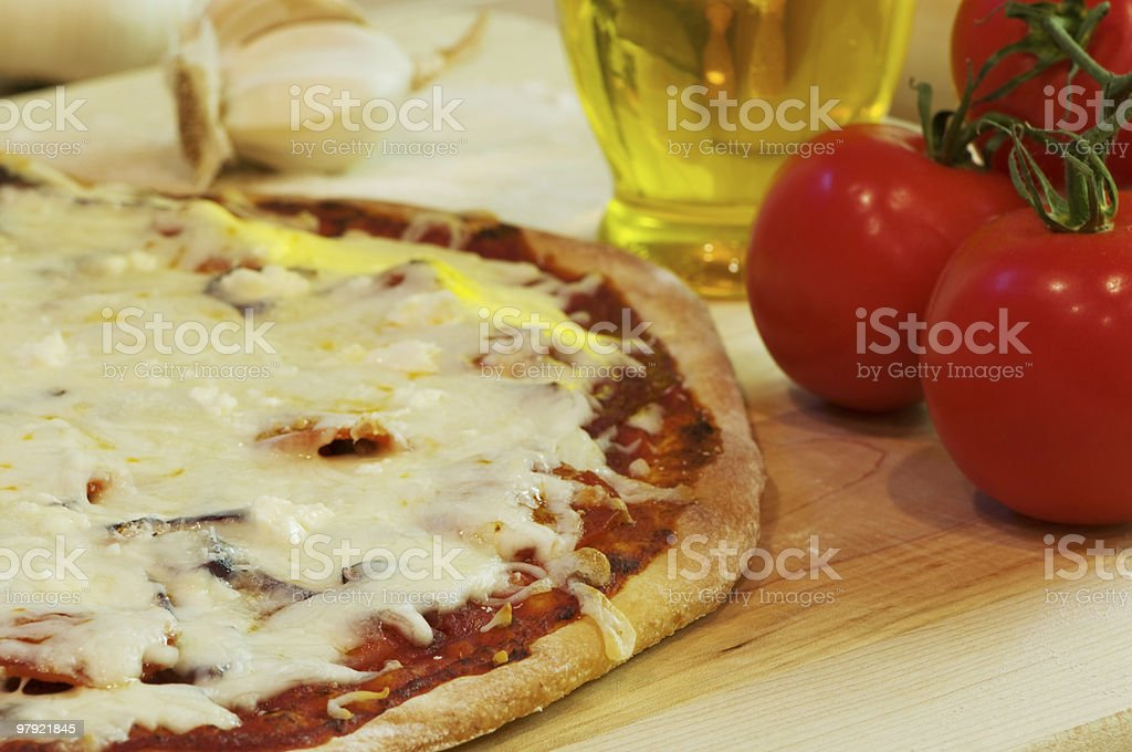 Pizza Fresh From Oven royalty-free stock photo