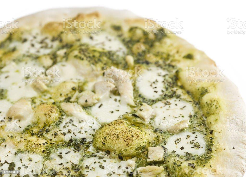 Pizza Genovese stock photo