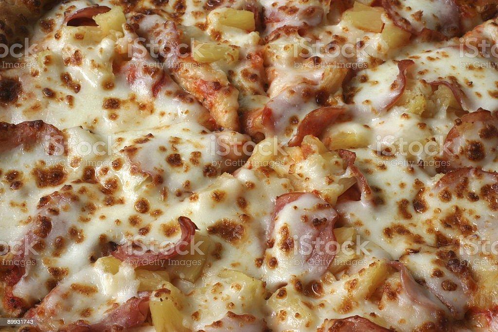 Pizza- Hawaiian Style royalty-free stock photo