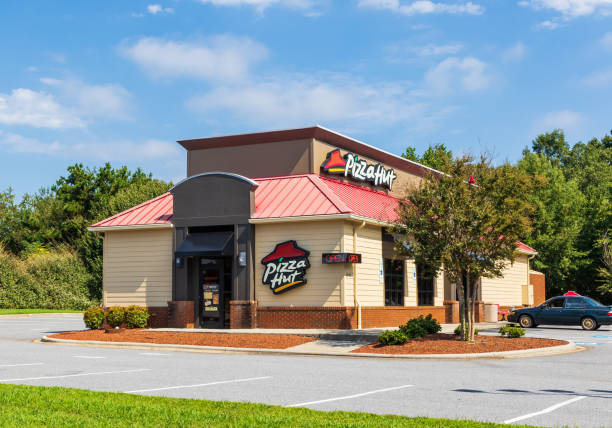 Pizza Hut building stock photo