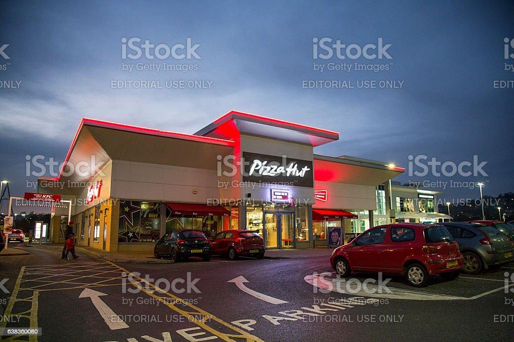 Pizza Hut stock photo