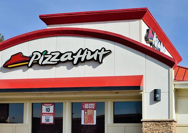 Pizza Hut, Santa Fe stock photo