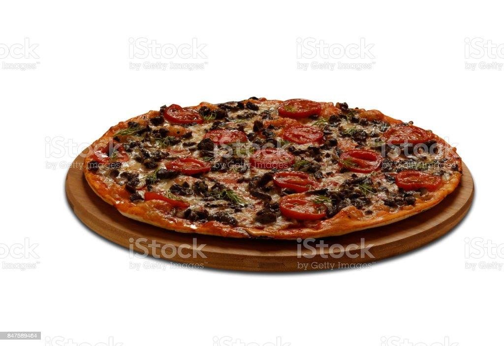 Pizza Imporator stock photo