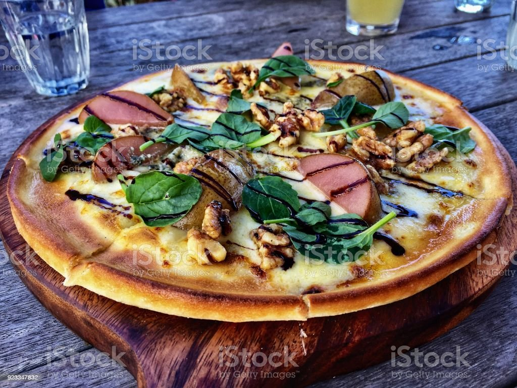 Pizza Lunch stock photo