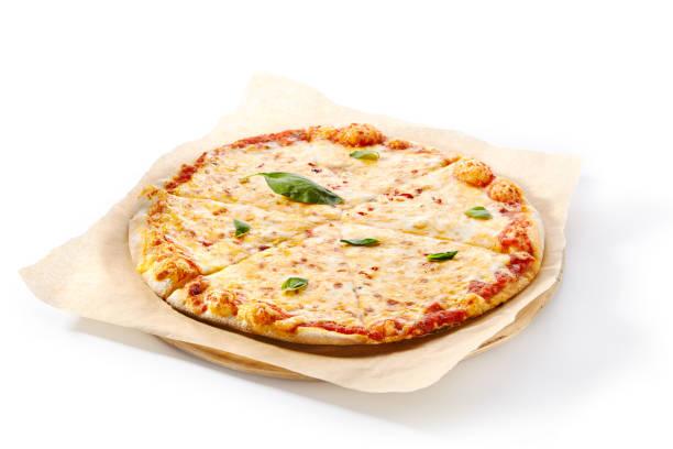 Pizza Margarita, Margherita, Traditionelles italienisches Flachbrot – Foto