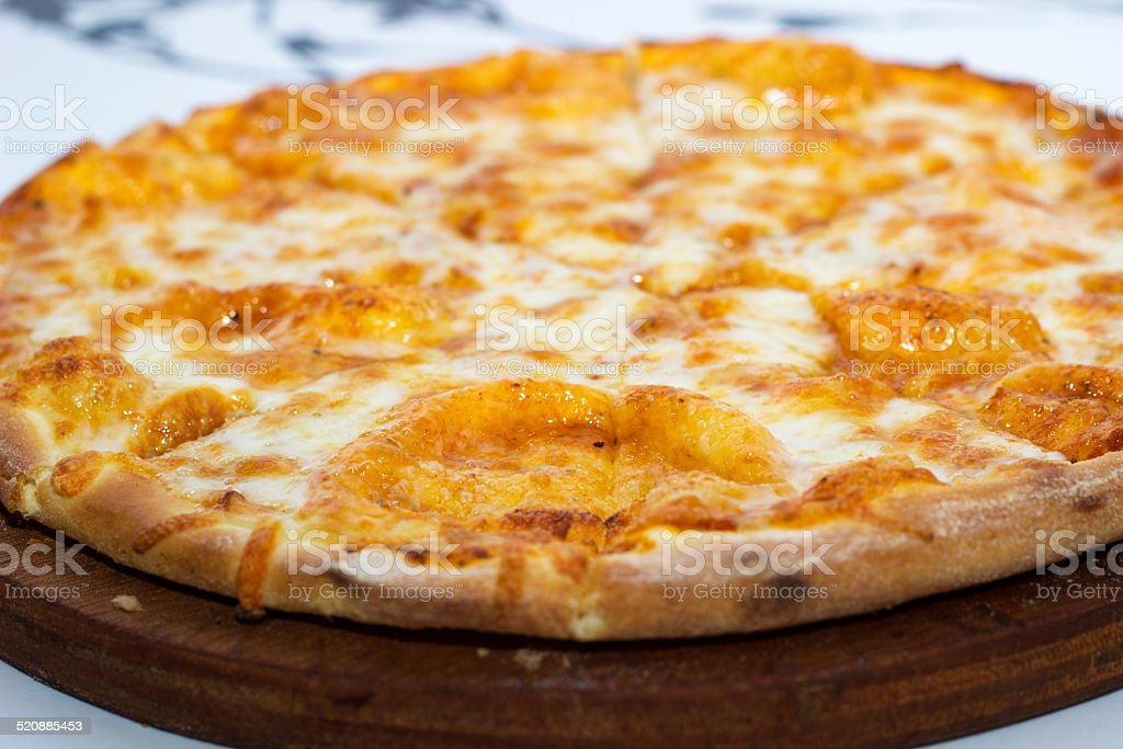 Pizza Margarita. stock photo