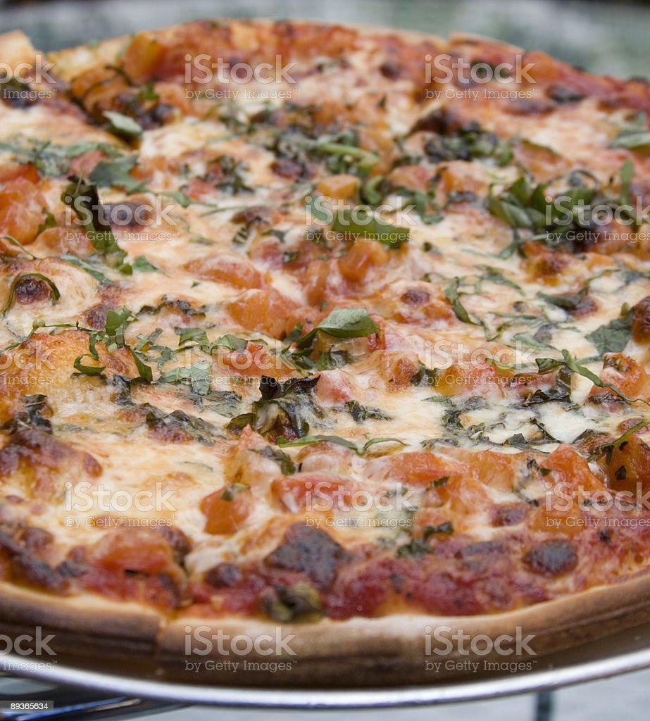 Pizza Margherita photo libre de droits