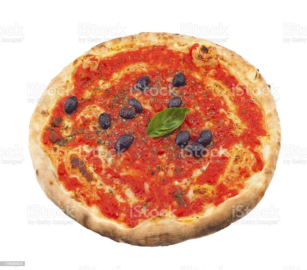 Pizza Marianra royalty-free stock photo