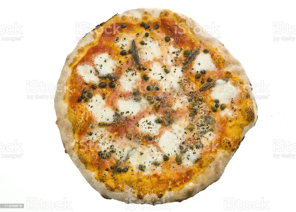 Pizza Napoletana royalty-free stock photo