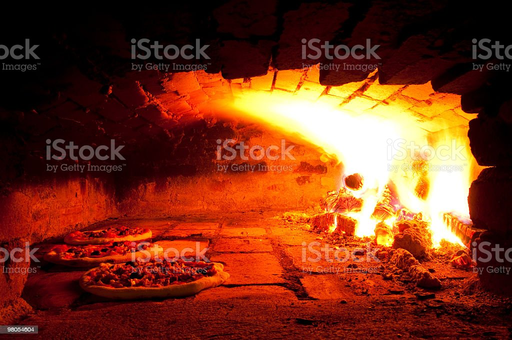 Pizza oven royalty-free stock photo
