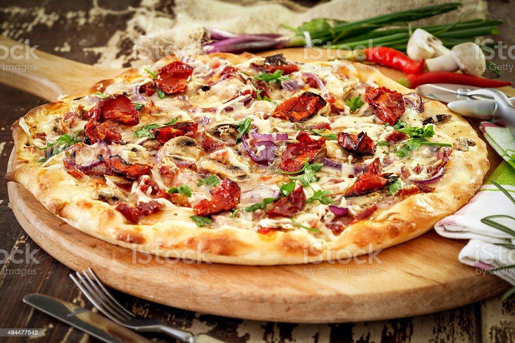 Pizza - Lizenzfrei 2015 Stock-Foto
