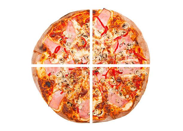 pizza - 25 cent stück stock-fotos und bilder
