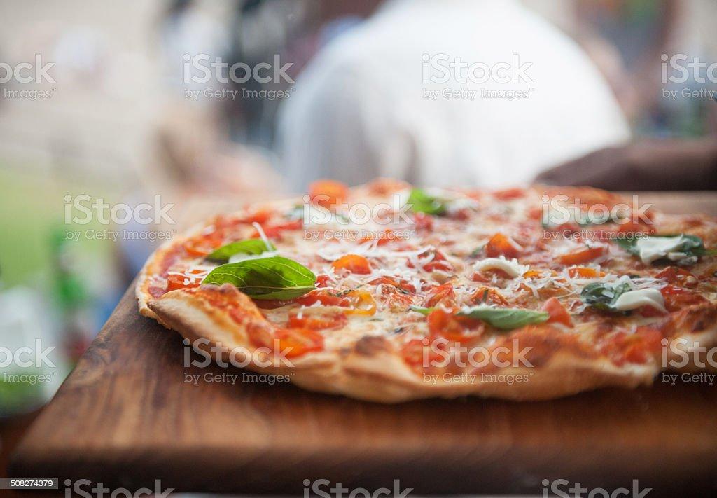 Pizza stock photo
