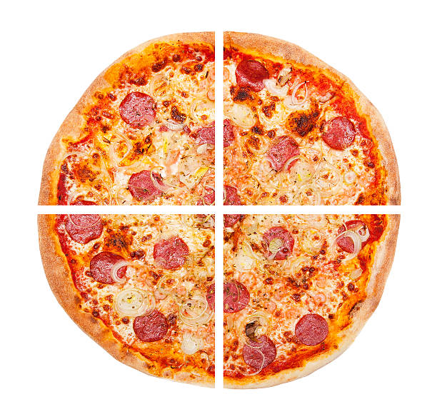 how to cut a pizza for one