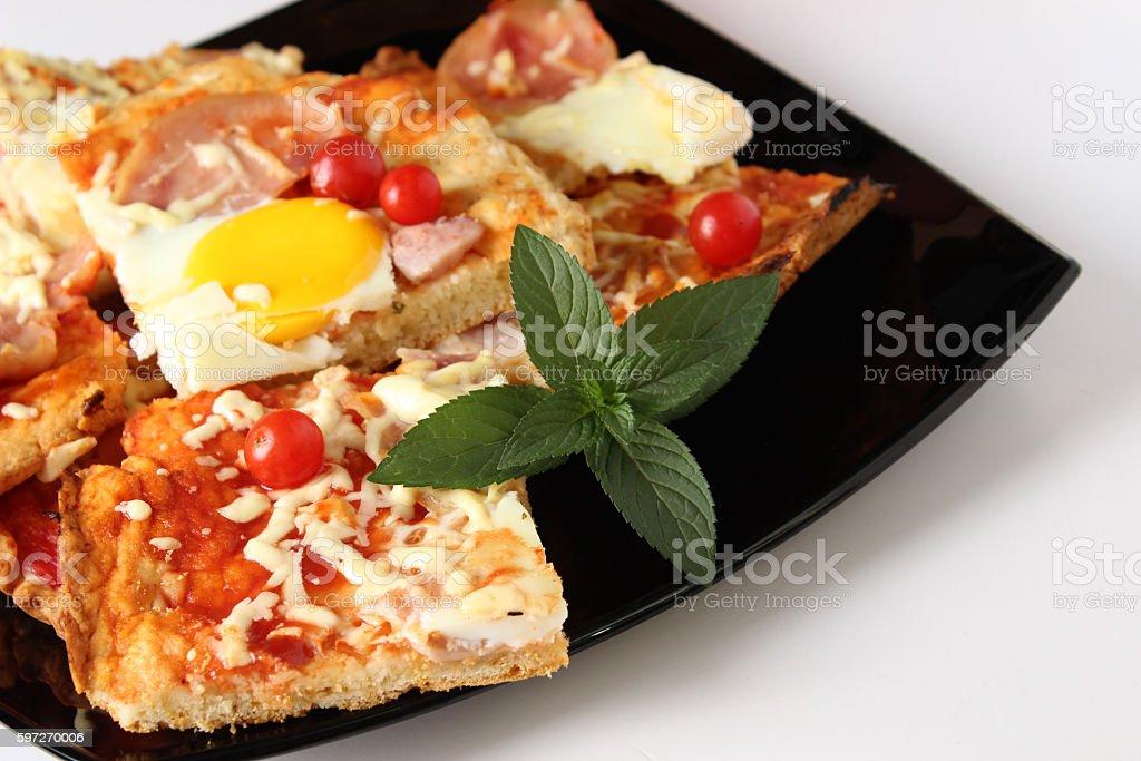 Pizza  Lizenzfreies stock-foto
