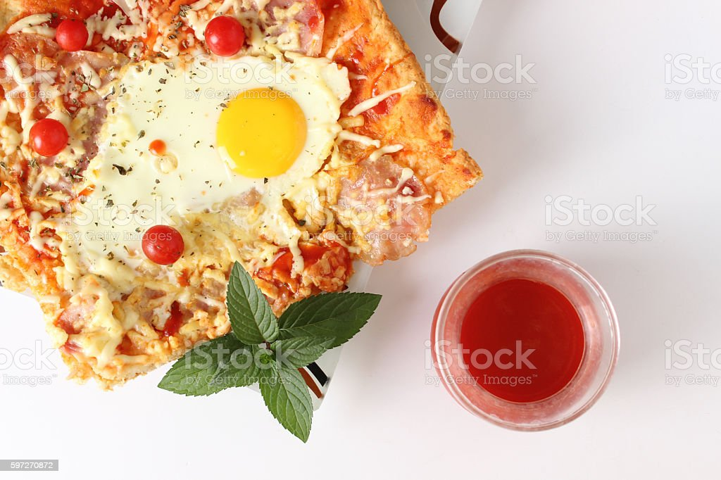 Pizza  photo libre de droits