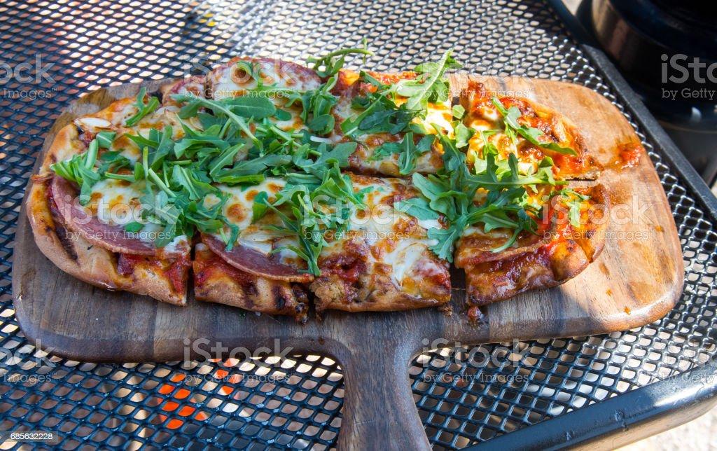 피자 royalty-free 스톡 사진