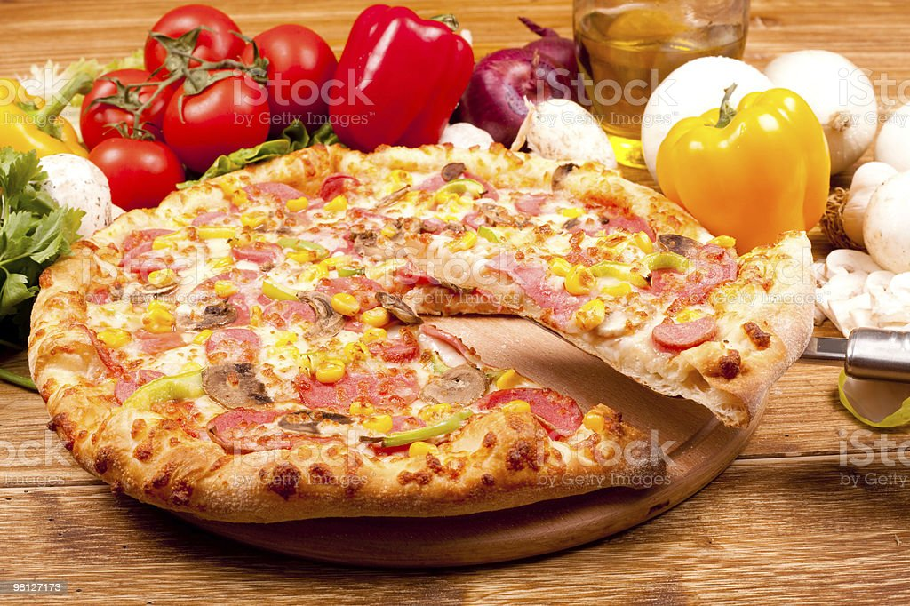Pizza foto stock royalty-free