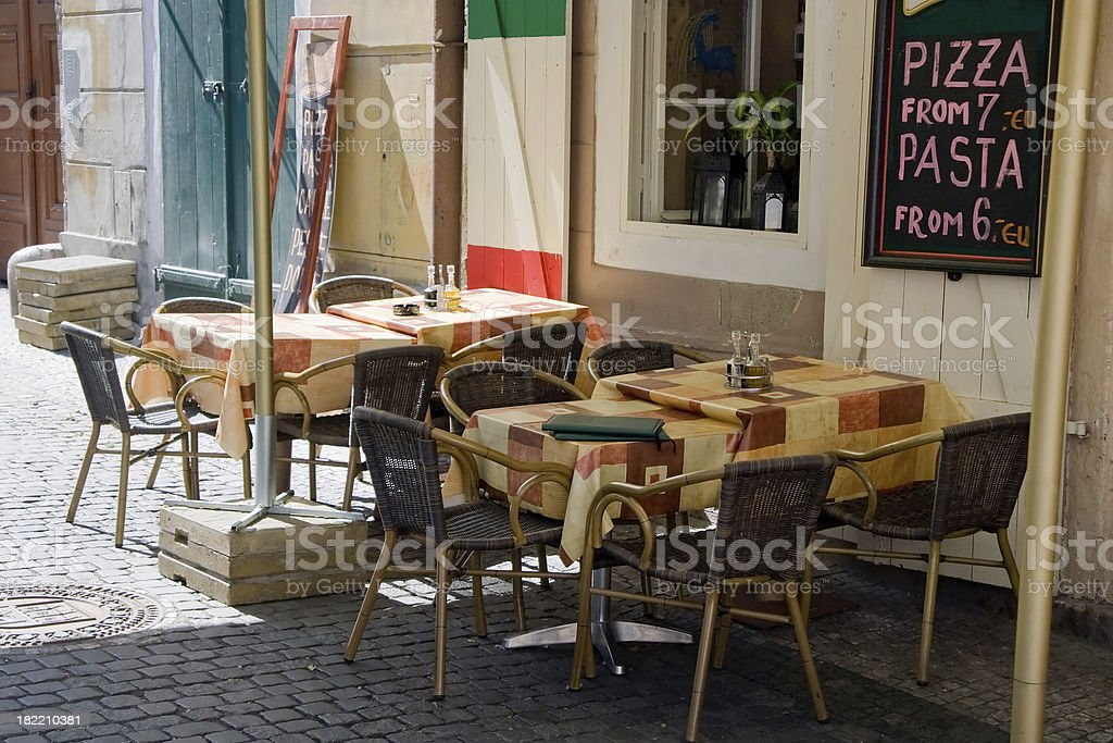 Pizza Place royalty-free stock photo