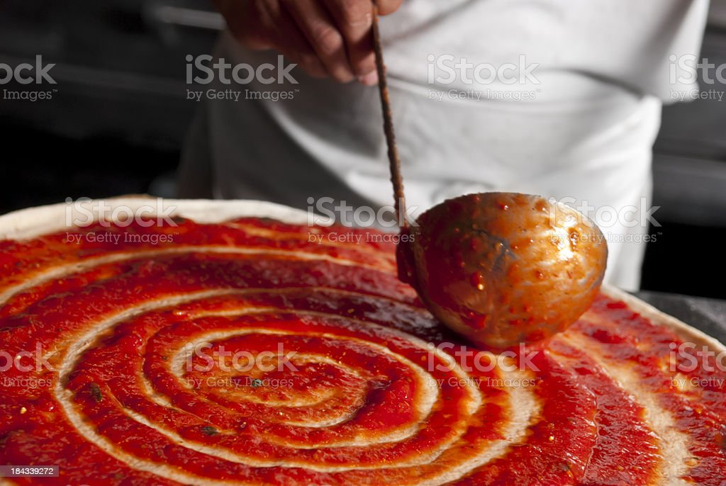 Pizza Sauce stock photo