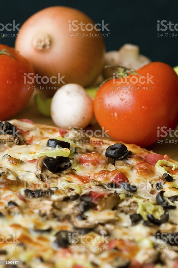 Pizza Series royalty-free stock photo