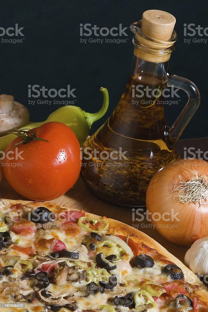 Pizza Series royalty-free stock photo