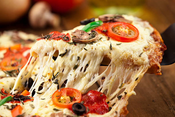 Pizza Slice. – Foto