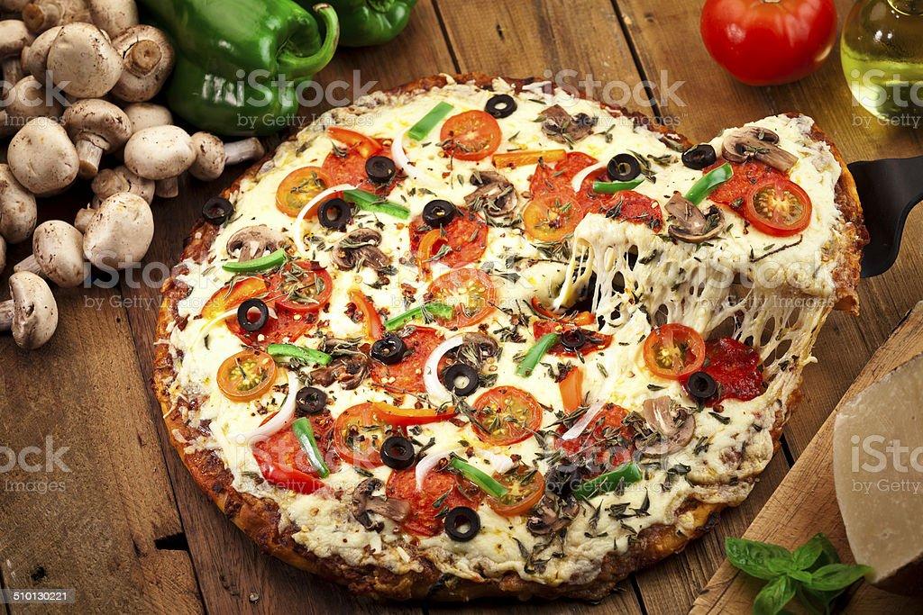 Pizza Slice. – Foto