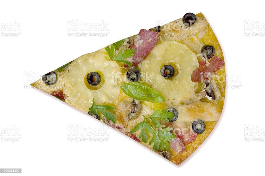 Fatia de pizza foto de stock royalty-free