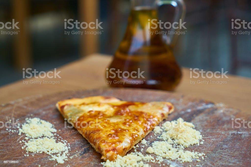 Pizza Slice Lizenzfreies stock-foto