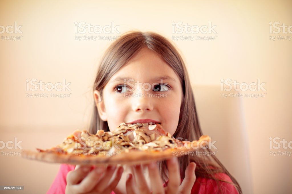 Pizza time! stock photo