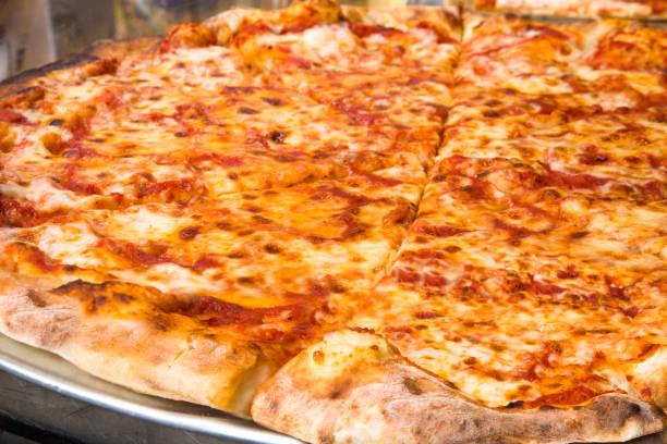 NYC Pizzaria Pizza Pie stock photo