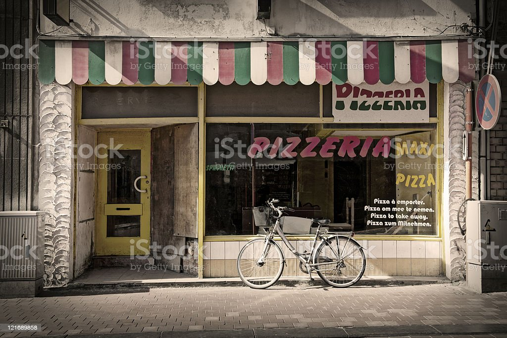 pizzeria royalty-free stock photo