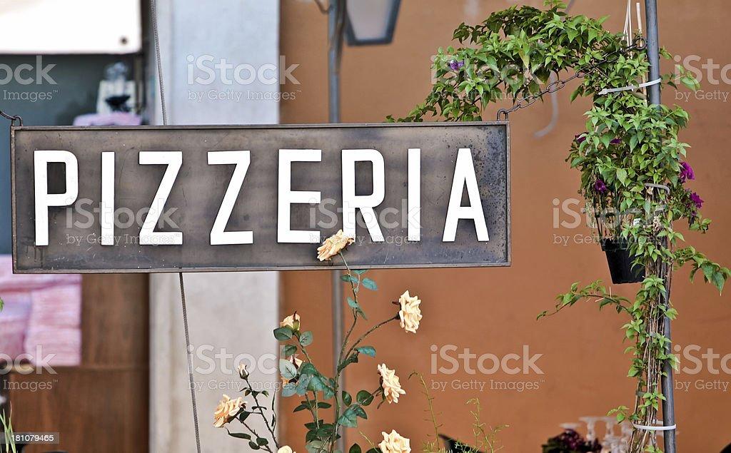 Pizzeria royalty-free stock photo