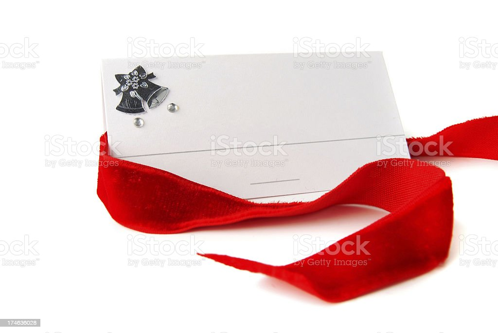 Place Card royalty-free stock photo