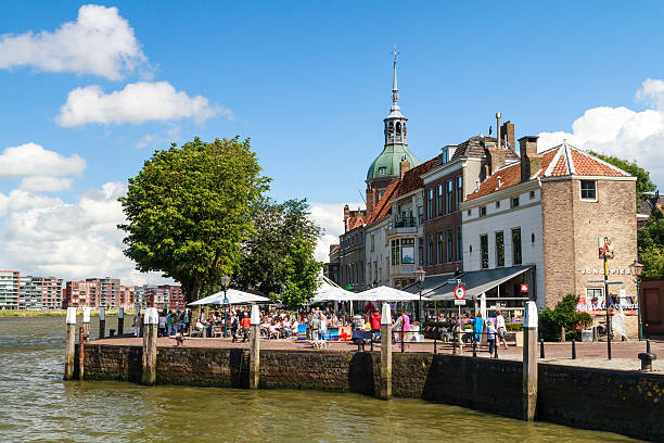 Place DAry in Dordrecht stock photo