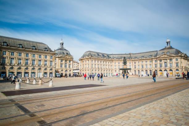 Place de la Bourse, Bordeaux, Frankreich – Foto